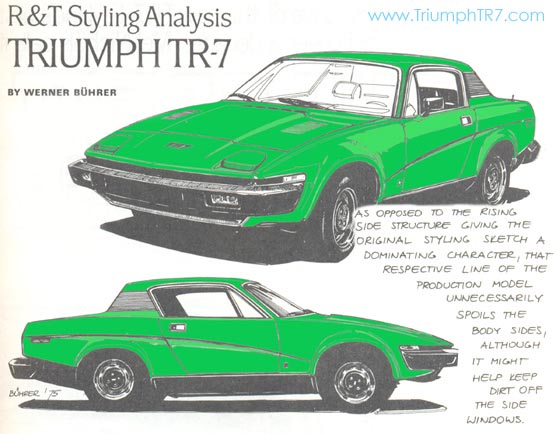 1975 Tr7 Launch